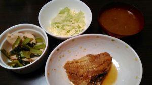 低糖質煮魚