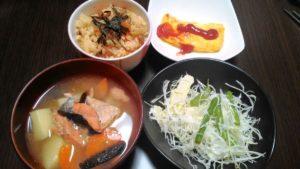 バランスの良い食事 メニュー5日目
