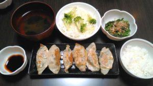 バランスの良い食事 メニュー6日目