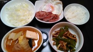 バランスの良い食事 メニュー8日目