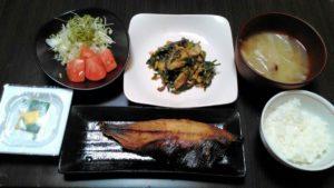 ダイエット 食事 メニュー18日目
