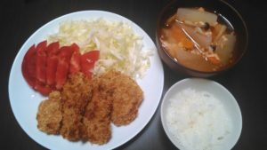 ダイエット 食事 メニュー22日目