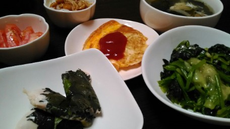 25日目「バランスの良い食事と、たまに甘いもの」