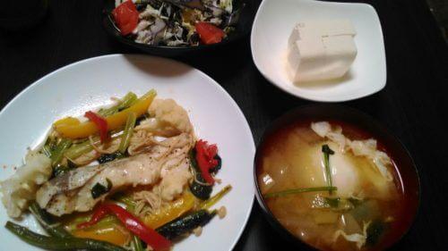 61日目「魚中心メニューで健康ライザップ式ダイエット」