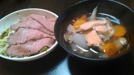 63日目「鮭汁が美味しくできました!ライザップ式ダイエット」