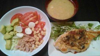減量期の食事例2