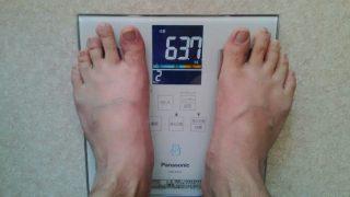 20日目の体重