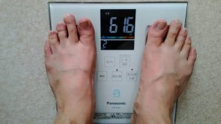 43日目の体重