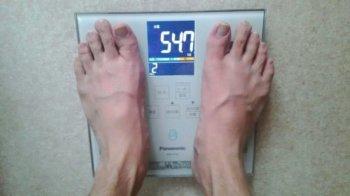 90日目の体重