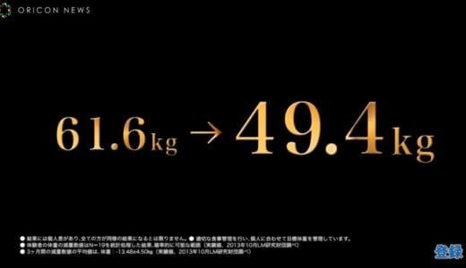 佐藤仁美さんRIZAPで12.2kgのダイエットに成功!お酒を飲んでも痩せられる?