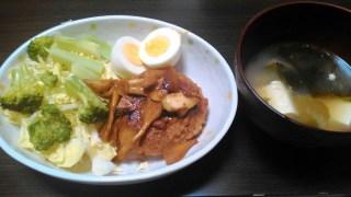 5月7日の食事【スコッチエッグ】