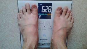 減量中の体重
