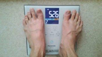 ダイエット成功体重