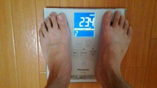 体脂肪率 2ヵ月目